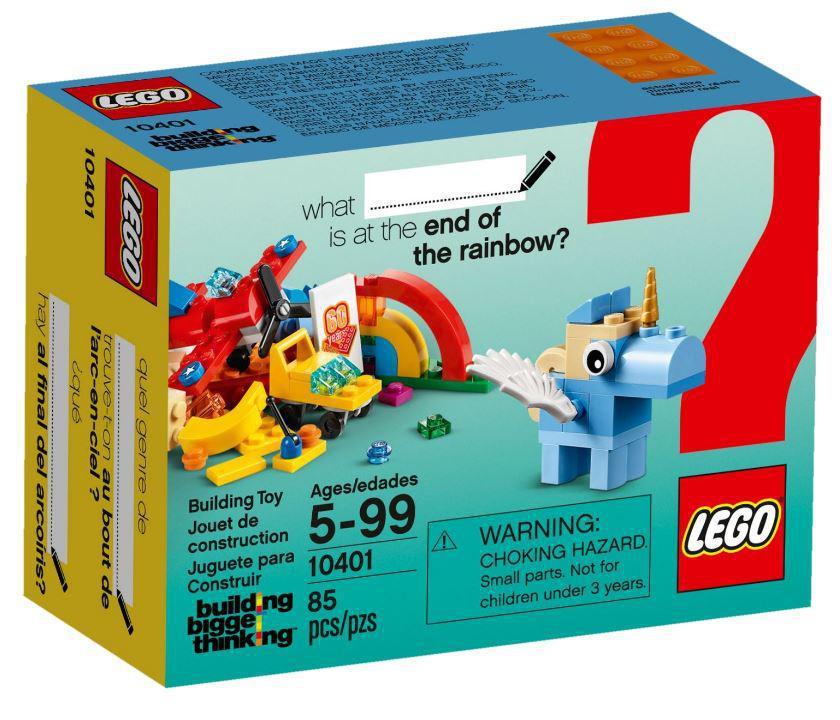 Детский Конструктор Lego Classic Весёлая радуга 10401