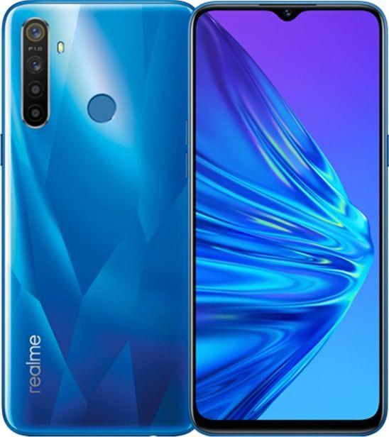 Смартфон Realme 5 4/128Gb (Blue) Global EU