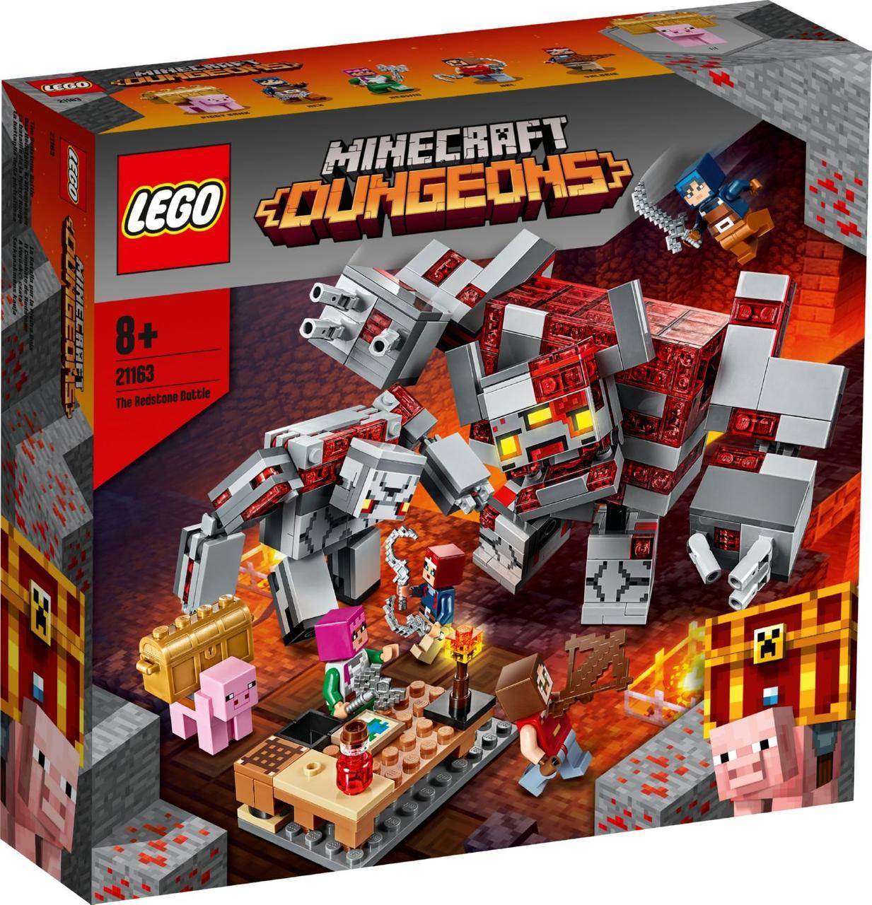 Lego Minecraft Битва за красную пыль 21163