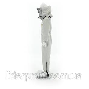 Комбинезон  пасечника двойной СУПЕР ЗАЩИТА со шляпой и лицевой сеткой Lyson  Польша, фото 2