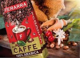 Кофе в зернах Ferarra Caffe 100% Arabica с клапаном 1 кг