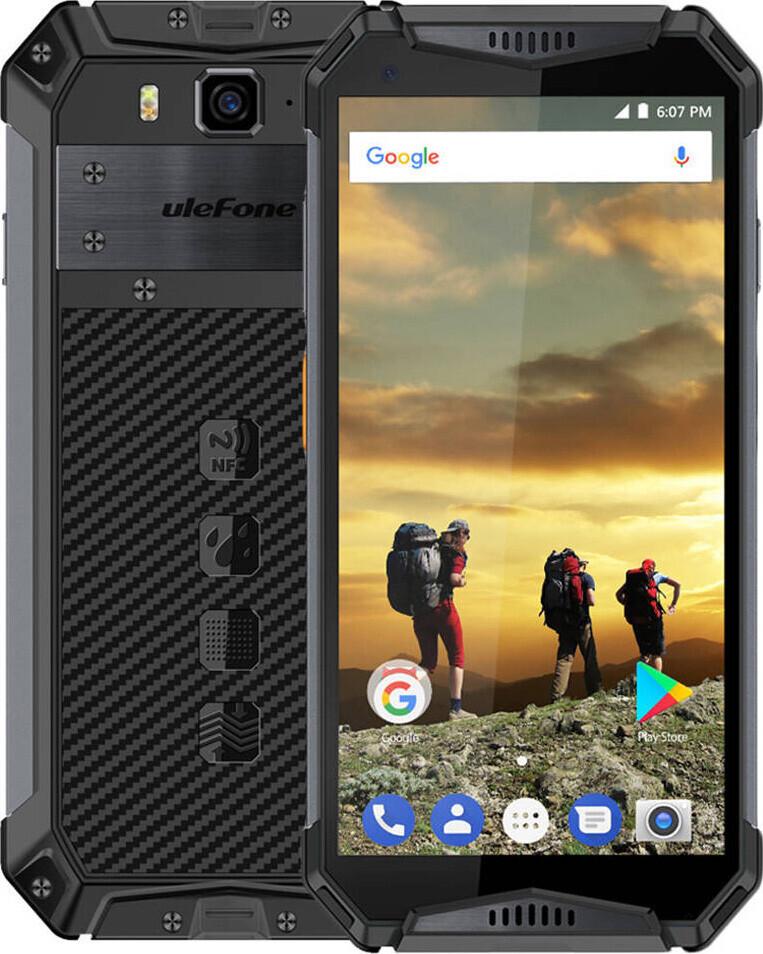 Защищенный телефон  UleFone Armor 3W orange NEW противоударный водонепроницаемый смартфон
