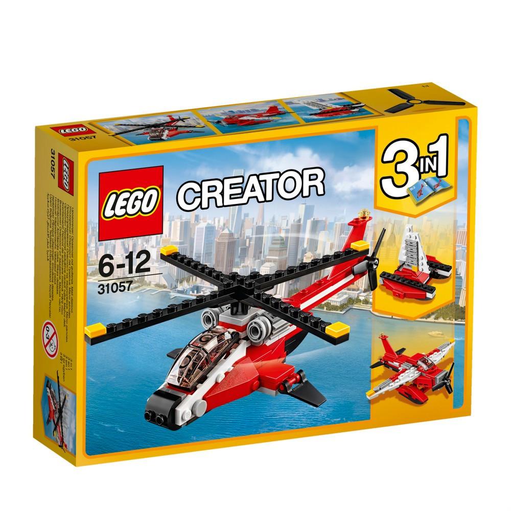 Детский Конструктор Lego Creator Красный вертолёт 31057