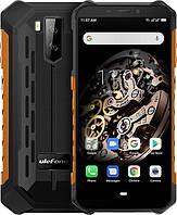 Защищенный телефон  UleFone Armor X5 orange противоударный водонепроницаемый смартфон