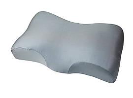 Ортопедическая подушка Beauty Balance от морщин сна и утренней отечности (MEMORY FOAM). да, серый