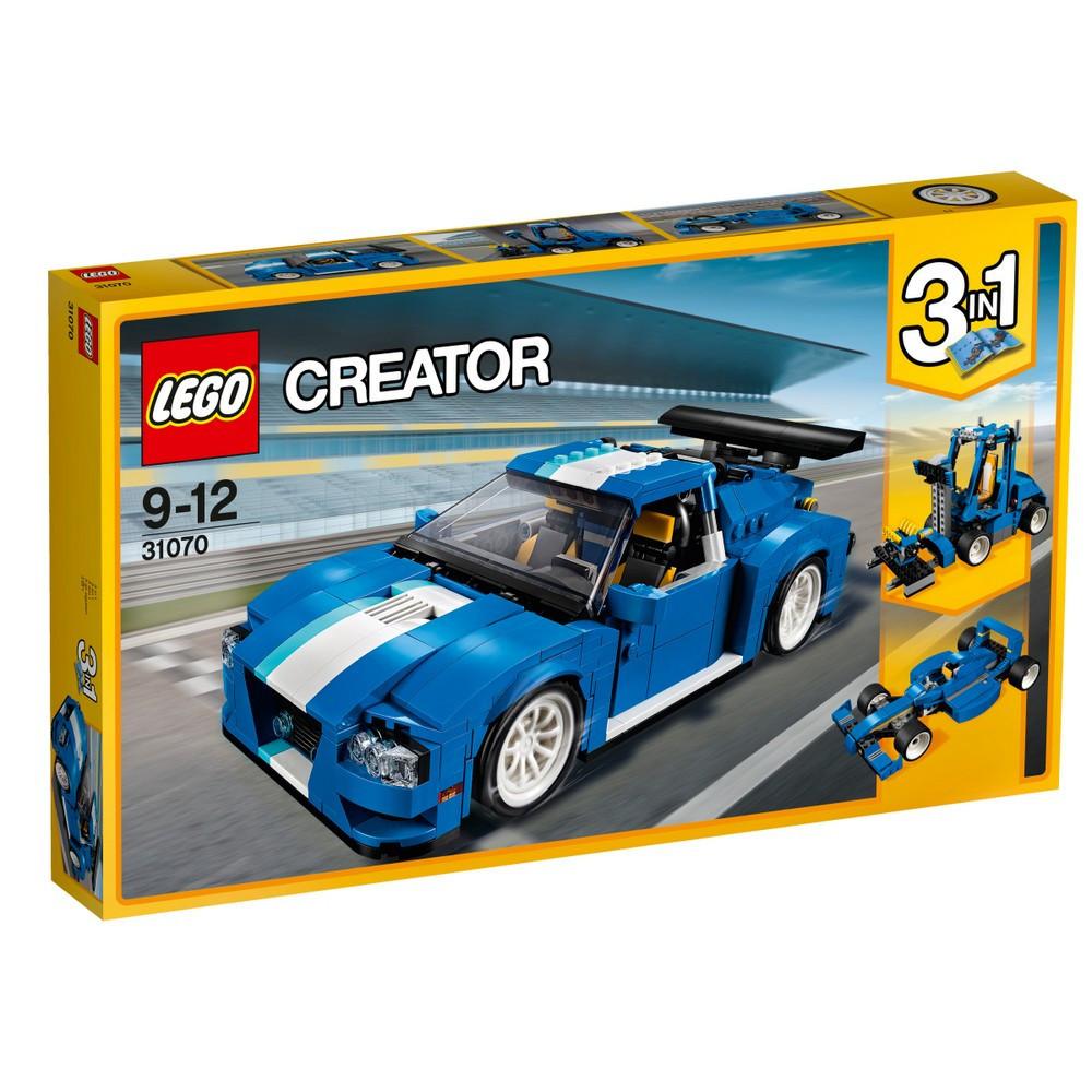 Детский Конструктор Lego Creator Гоночный автомобиль 31070
