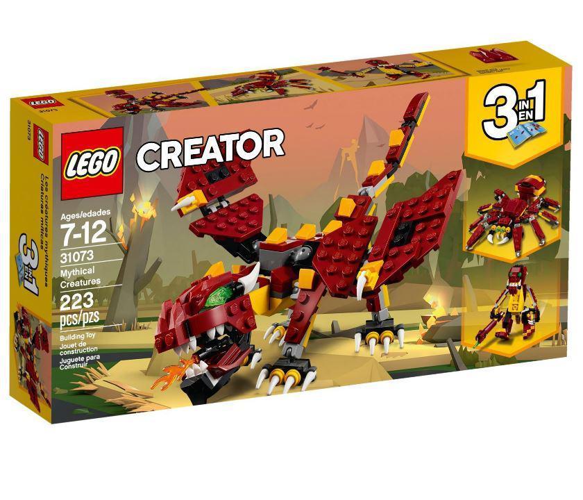Lego Creator Міфічні істоти 31073