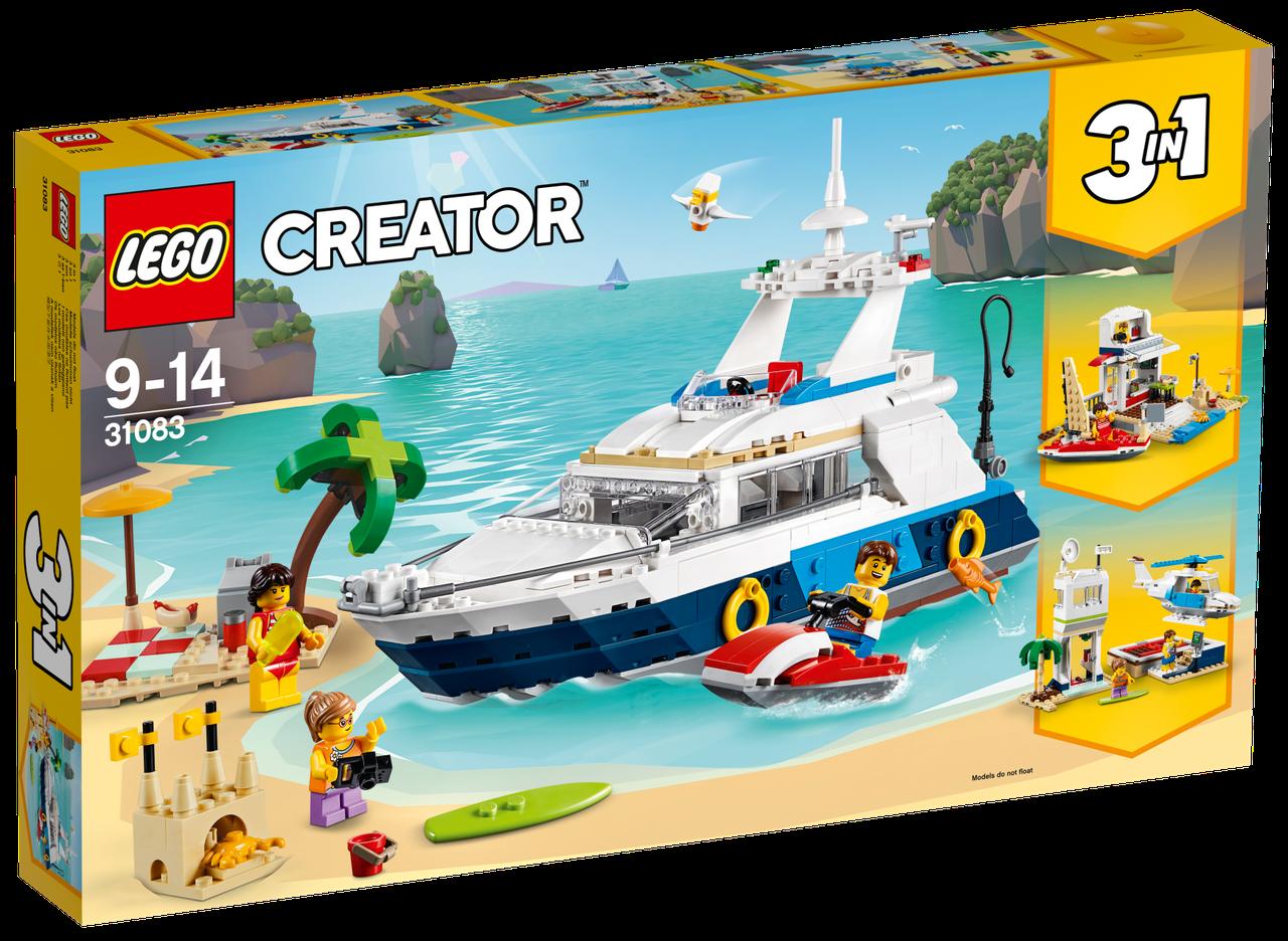 Детский Конструктор Lego Creator Морские приключения 31083