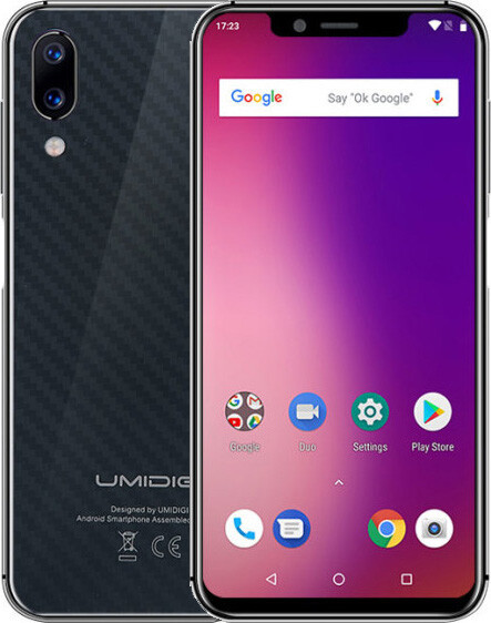 Смартфон Umidigi One 4/32Gb black