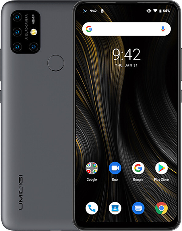 Смартфон UMIDIGI Power 3 Gray