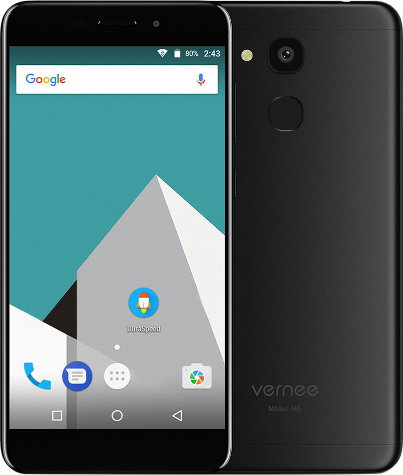 Смартфон Vernee M5 4/64GB Black