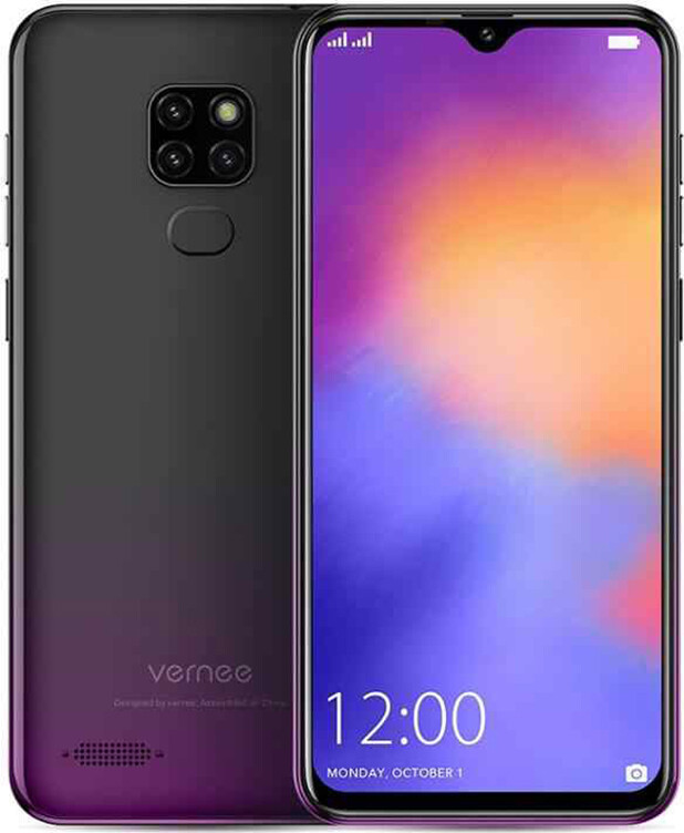 Смартфон Vernee M7 4/64Gb black