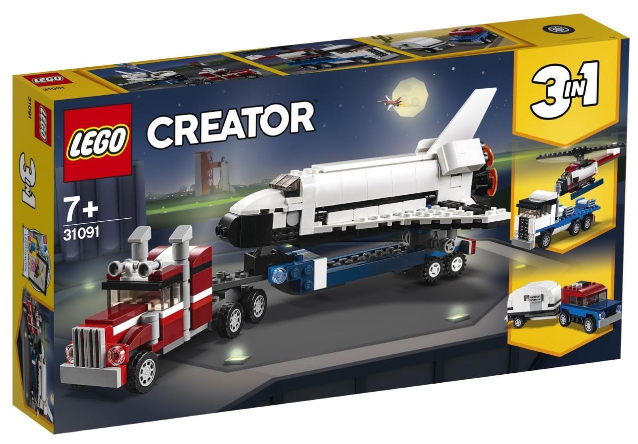 Lego Creator Транспортировщик шаттлов 31091