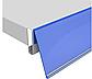 Синій Цінникотримач DBR-39 самоклеючий / стелажний, фото 7