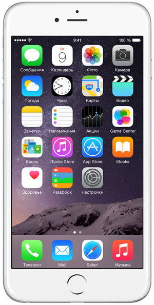 Смартфон Apple iPhone 6 Plus 16GB Silver Grade A Refurbished