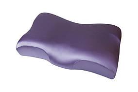 Ортопедическая подушка Beauty Balance от морщин сна и утренней отечности (MEMORY FOAM). шелк, лаванда
