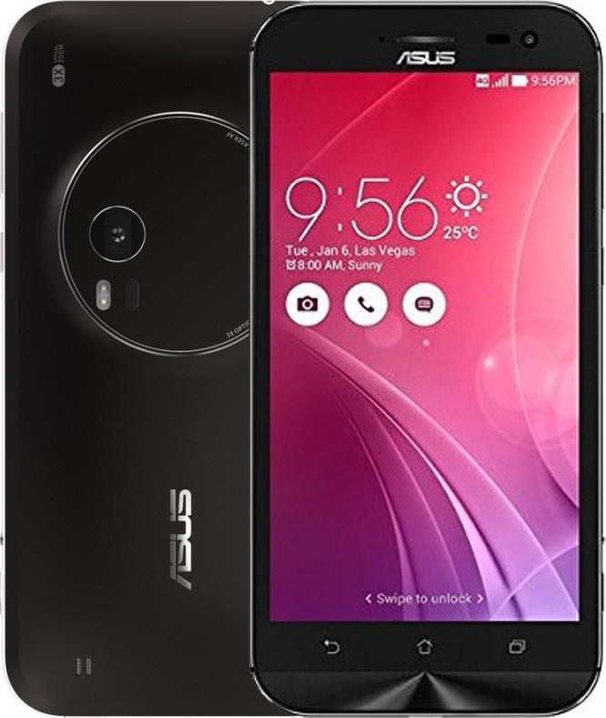 Смартфон ASUS ZENFONE ZOOM ZX551ML 4/64Gb BLACK