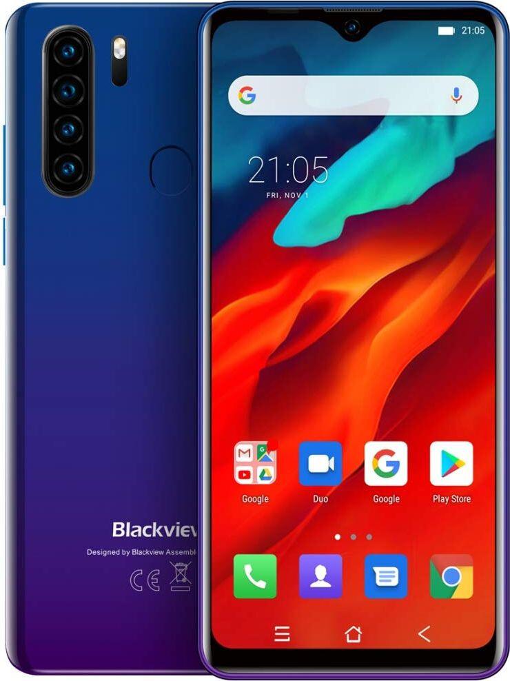 Захищений телефон Blackview A80 Pro 4/64Gb Blue протиударний водонепроникний смартфон