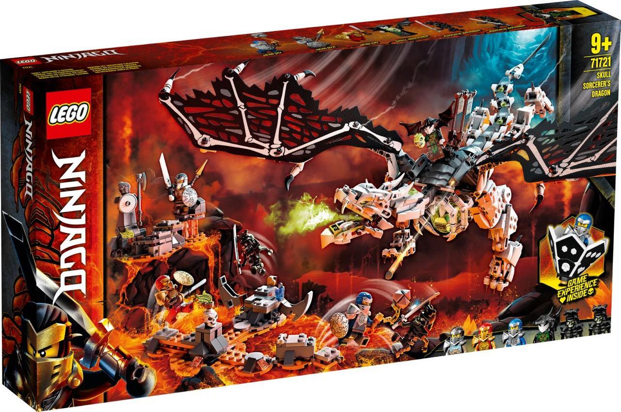 Lego Ninjago Дракон чародія-скелета 71721