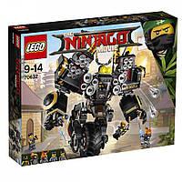 Детский Конструктор Lego Ninjago Movie Робот землетрясений Коула 70632, фото 1