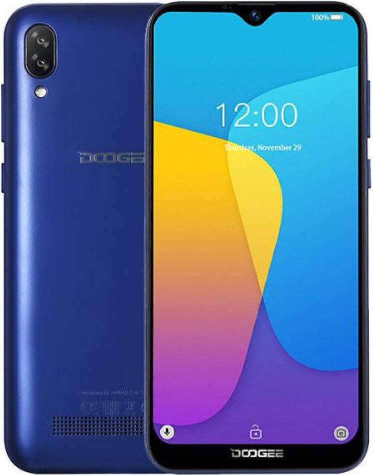 Смартфон Doogee X90 1/16Gb Blue