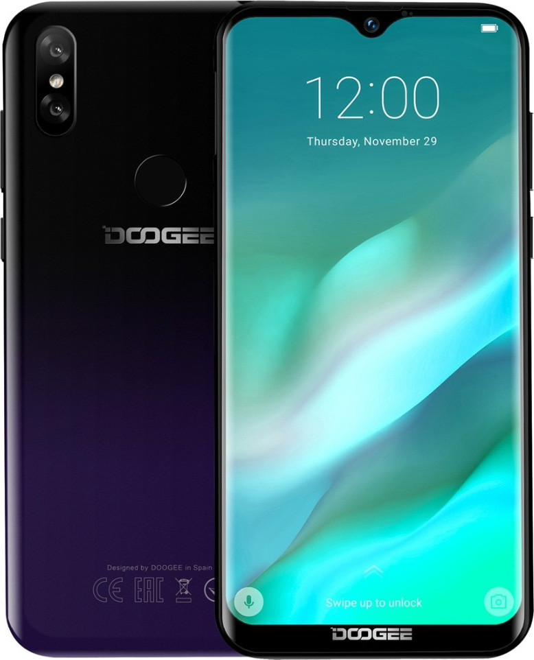 Смартфон Doogee Y8 3/16Gb Phantom Purple