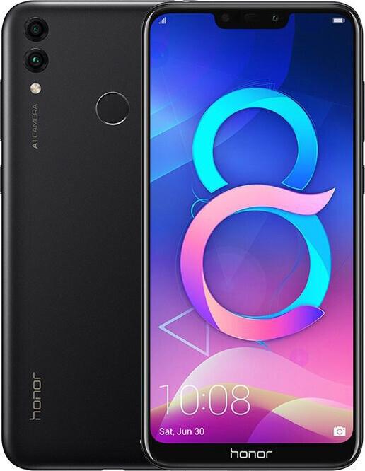 Смартфон Honor 8С 4/32Gb Black