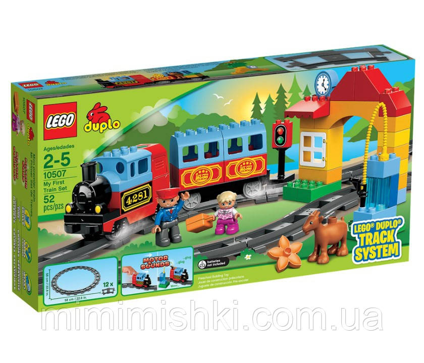 Lego Duplo Мій перший поїзд 10507