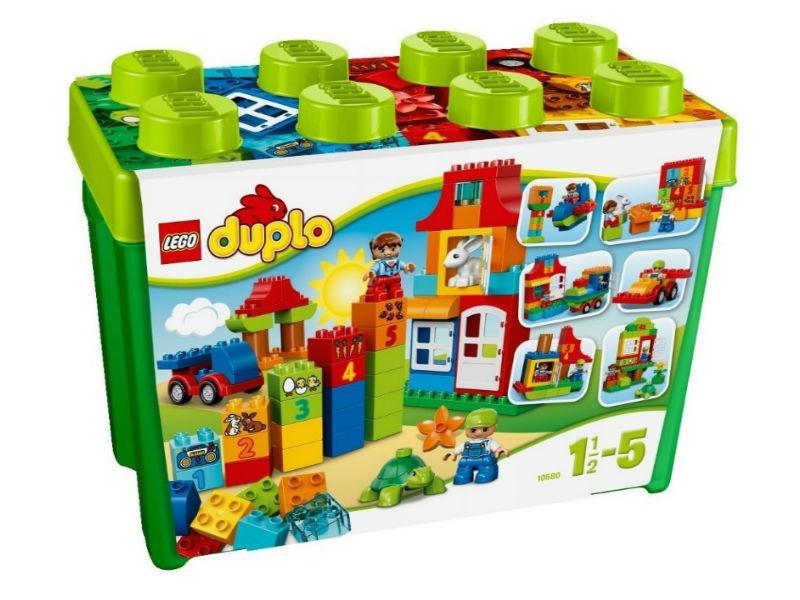 Lego Duplo Игровая коробка Делюкс 10580