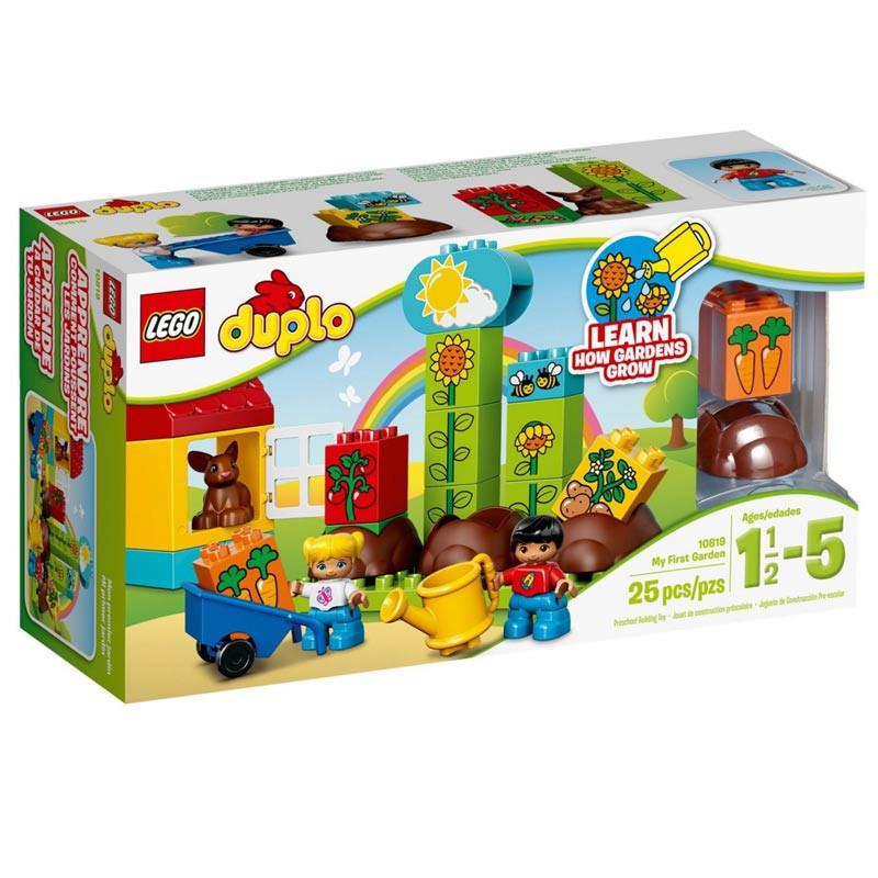 Детский Конструктор Lego Duplo Мой первый сад 10819