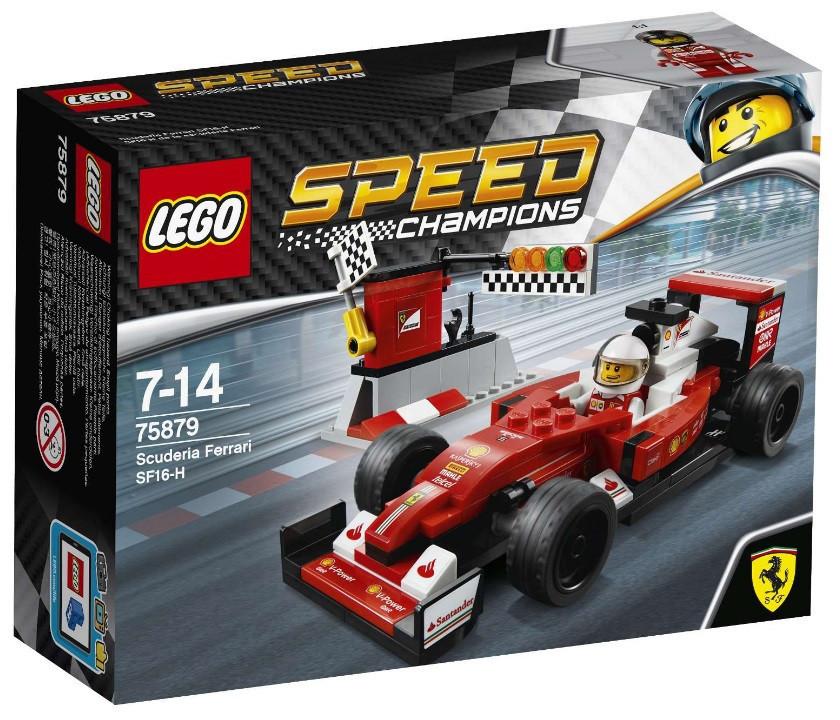 Детский Конструктор Lego Speed Champions Скудерия Ferrari SF16-H 75879