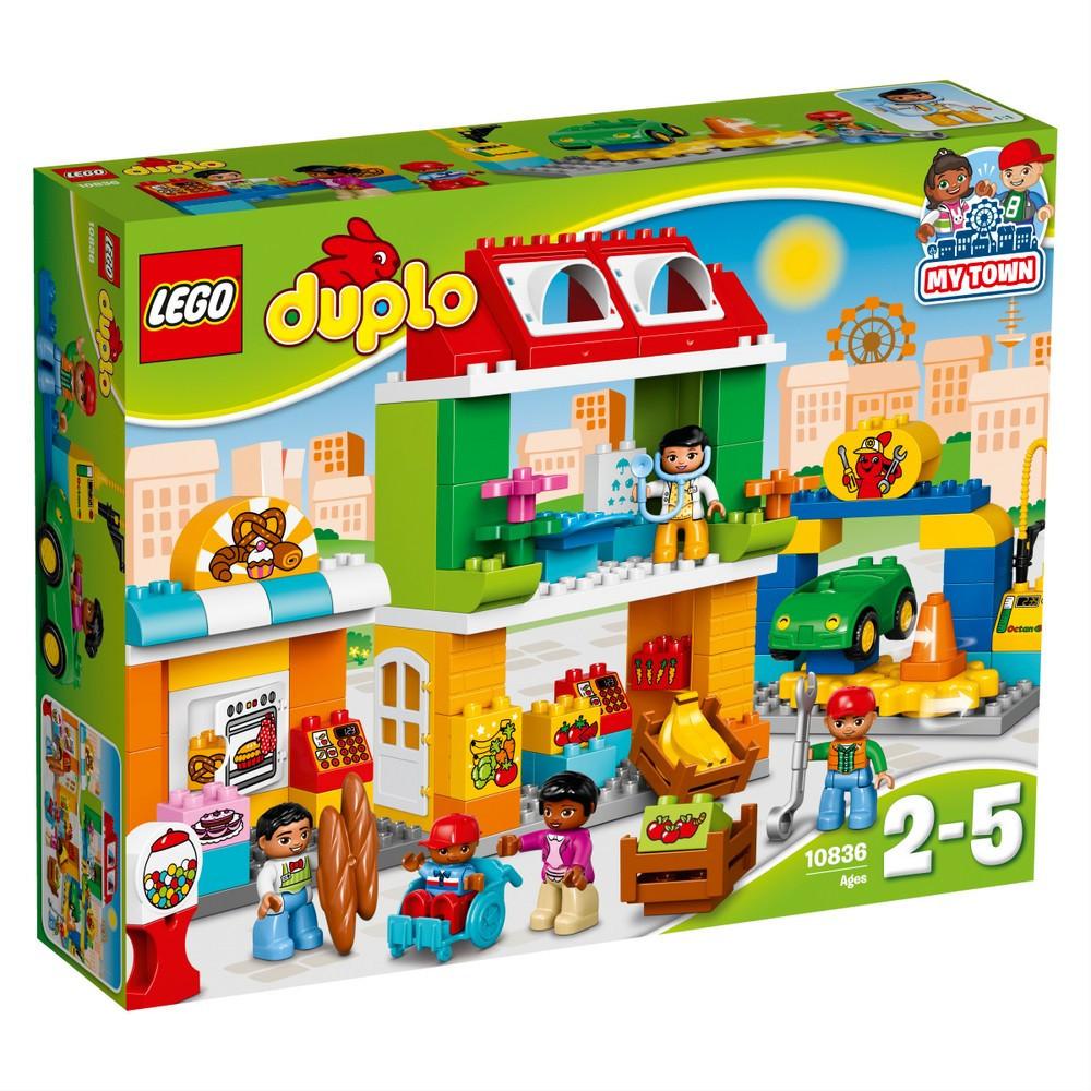 Детский Конструктор Lego Duplo Городская площадь 10836