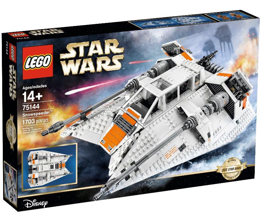 Lego Star Wars Снежный спидер 75144