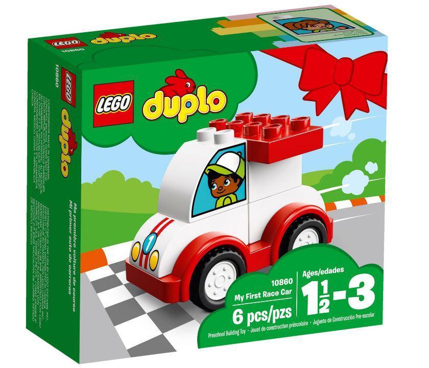 Lego Duplo Мій перший гоночний автомобіль 10860