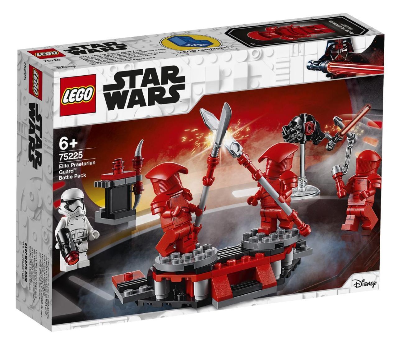 Детский Конструктор Lego Star Wars Боевой набор Элитной преторианской гвардии 75225