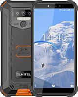 Защищенный телефон  OUKITEL WP5 orange противоударный водонепроницаемый смартфон