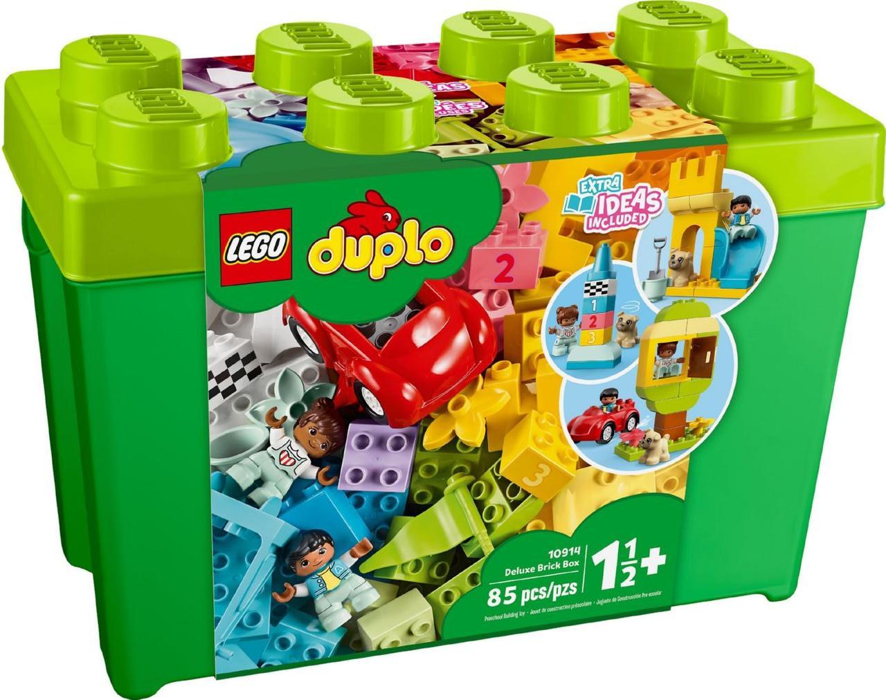 Lego Duplo Велика коробка з кубиками 10914