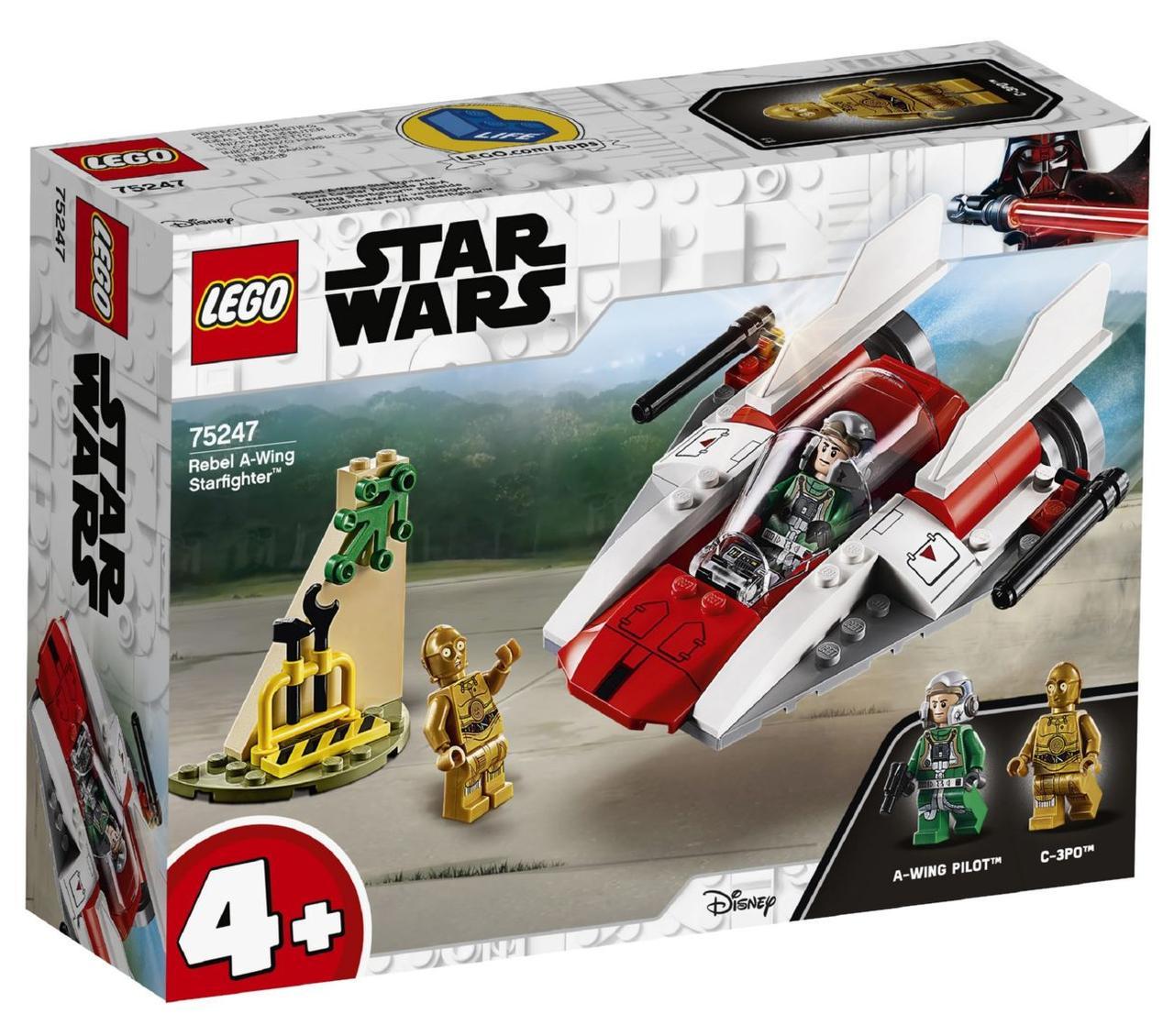 Lego Star Wars Зоряний винищувач типу А 75247