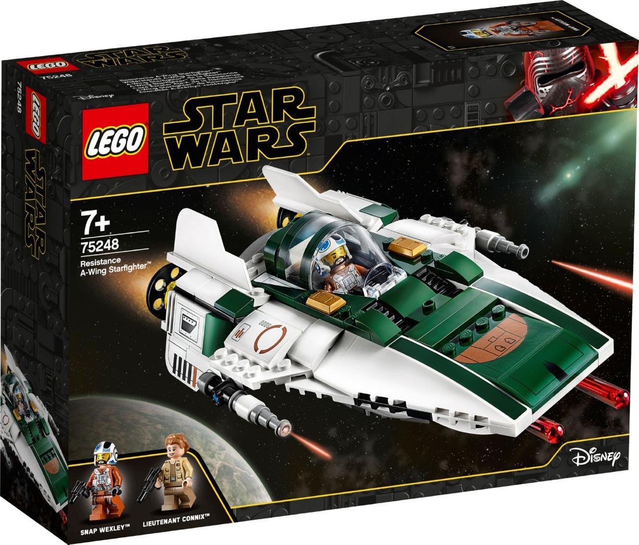 Lego Star Wars Зоряний винищувач Повстанців типу А 75248