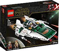 Lego Star Wars Зоряний винищувач Повстанців типу А 75248, фото 1