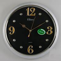 Стильные часы  34х5 см. Смотрятся очень красиво!