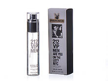 "Мини-парфюм мужской ""Carolina Herrera"" 212 VIP MEN pheromon (45 мл)"