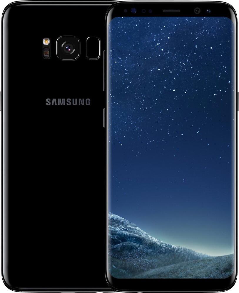 Смартфон Samsung Galaxy S8+ G955FD Duos 64Gb Black REF