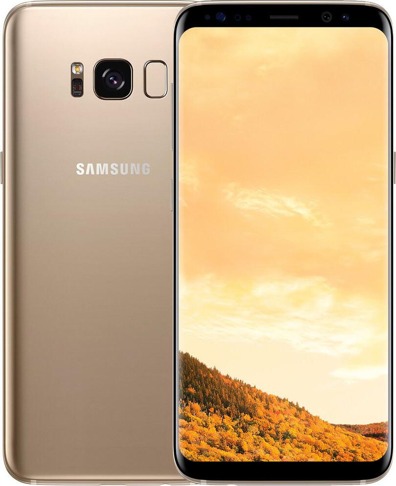 Смартфон Samsung Galaxy S8+ G955FD Duos 64Gb Gold REF