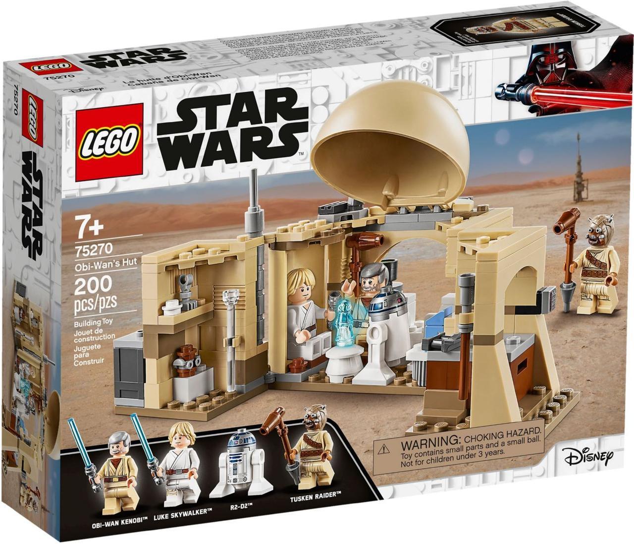 Детский Конструктор Lego Star Wars Хижина Оби-Вана Кеноби 75270