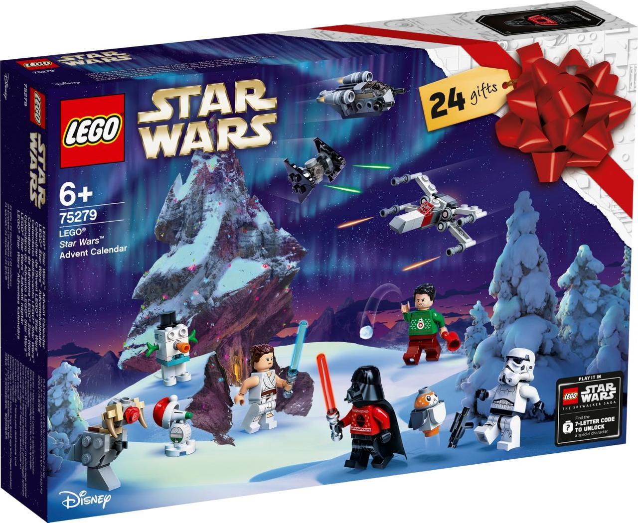 Lego Star Wars Новогодний календарь Лего Стар Ворс 75279