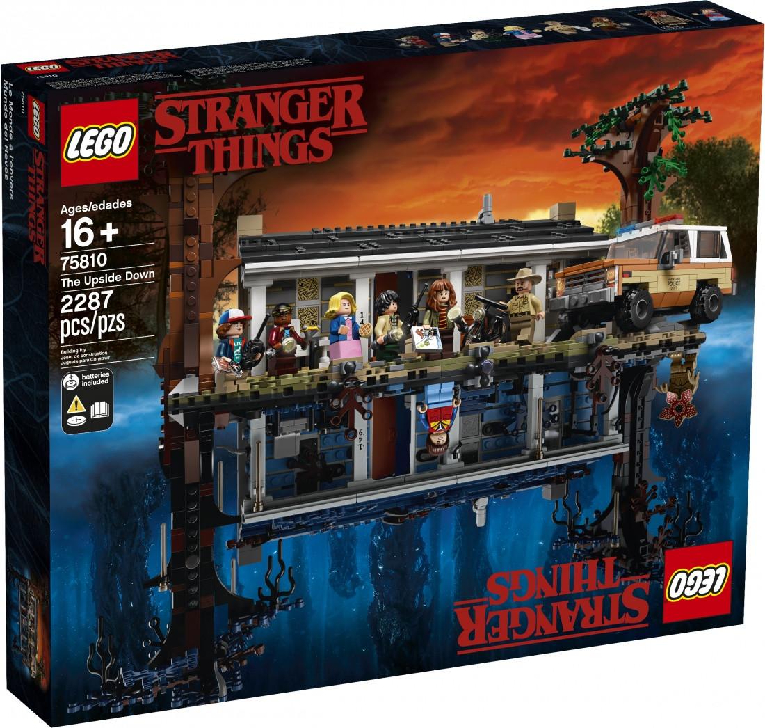 Lego Stranger Things The Upside Down Очень странные дела 75810
