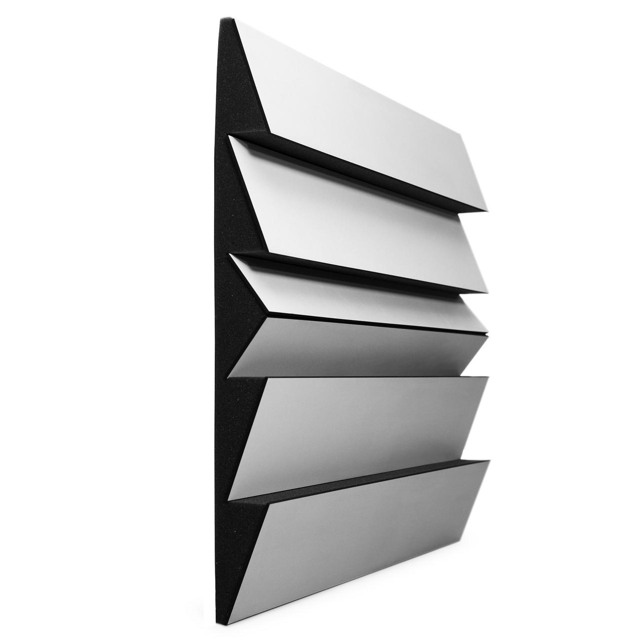 Акустичний розсіювач дифузор Ecosound PINDIFF White ROCK 53мм 50х50 см колір білий
