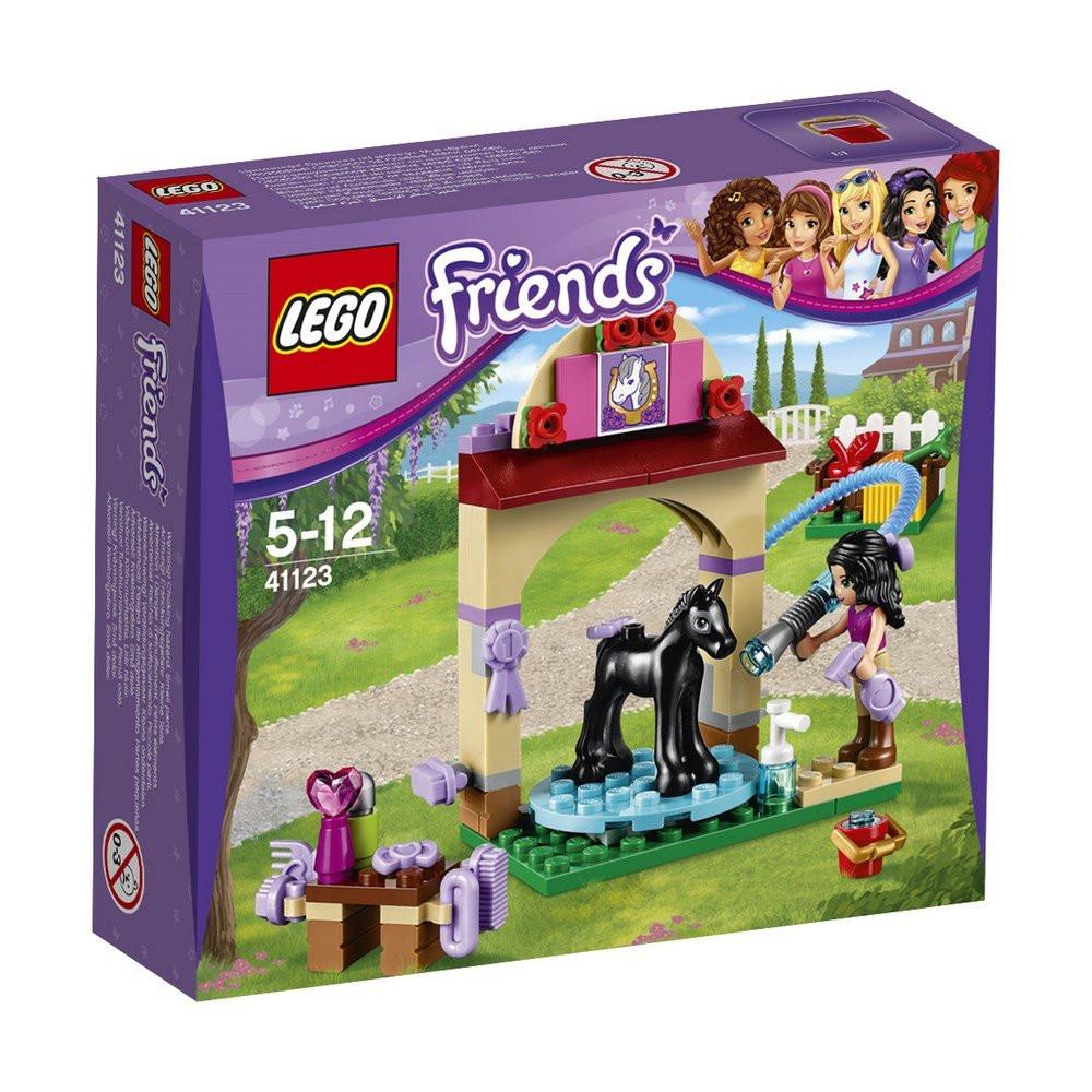 Lego Friends Купание жеребенка в конюшне 41123