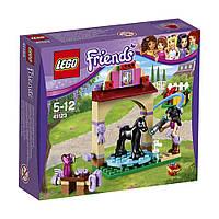 Lego Friends Купание жеребенка в конюшне 41123, фото 1